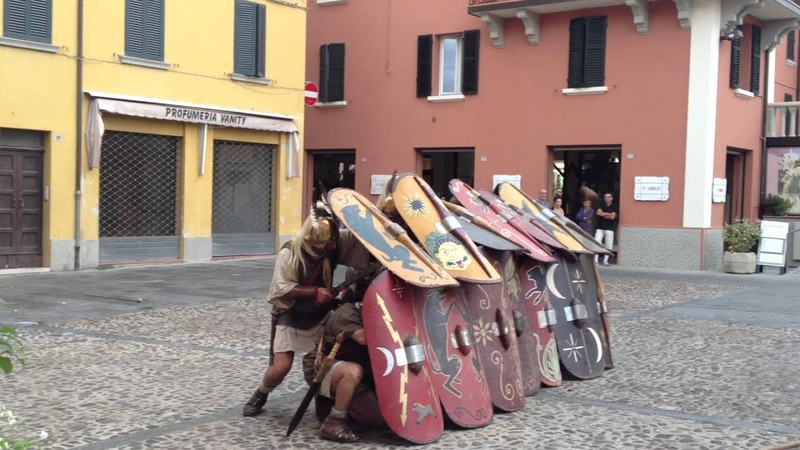 Pila su Testudo - I Legio Italica a Riolo Terme 15-09-2013