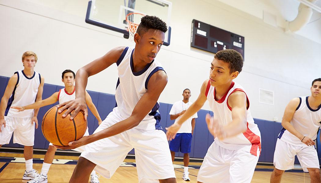 Польза для здоровья при занятиях баскетболом