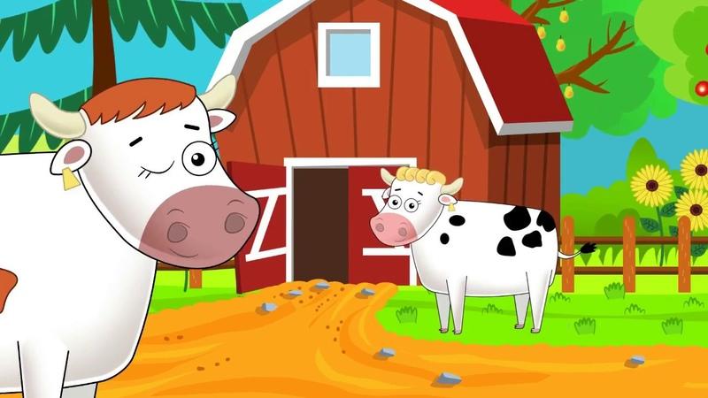 Senis Makdonaldas turėjo fermą - Vaikiškos Dainelės Dainų Karuselė.TV