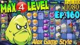 Plants vs. Zombies 2 (China) - Squash MAX 4 level - Dark Ages Night 16 (Ep.160)