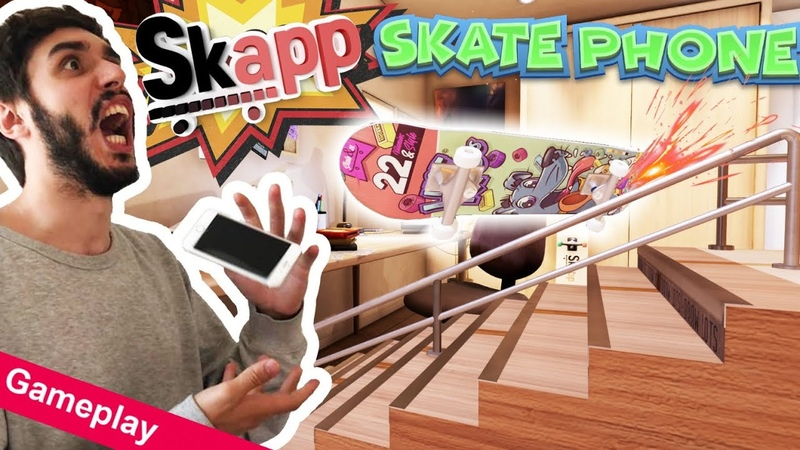 SKAPP el juego de skate DEFINITIVO Ps4! Nos invitan a las oficinas de PlayStation