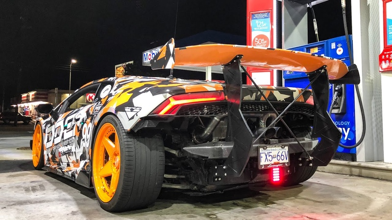 F1 STYLE SUPERCHARGED LAMBORGHINI W/ RADIO COMMS!