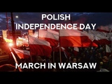 Polish Independence Day March in Warsaw