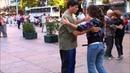 Street Tango in Montevideo, Uruguay