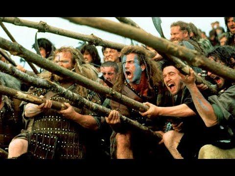 Храброе сердце (1995) нарезка боевых сцен-Braveheart (1995) cutting battle scenes