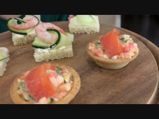 Закуска из Красной Рыбы и Креветок на Новогодний Стол _ Salmon Appetizer _ Ольга Матвей