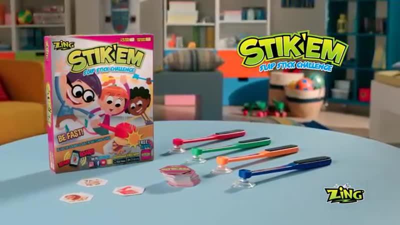 STIK'EM SLAP STICK CHALLENGE