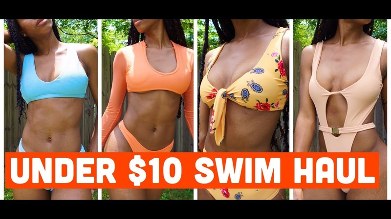 Summer Swimsuit Haul| Everything under 10 dollars!