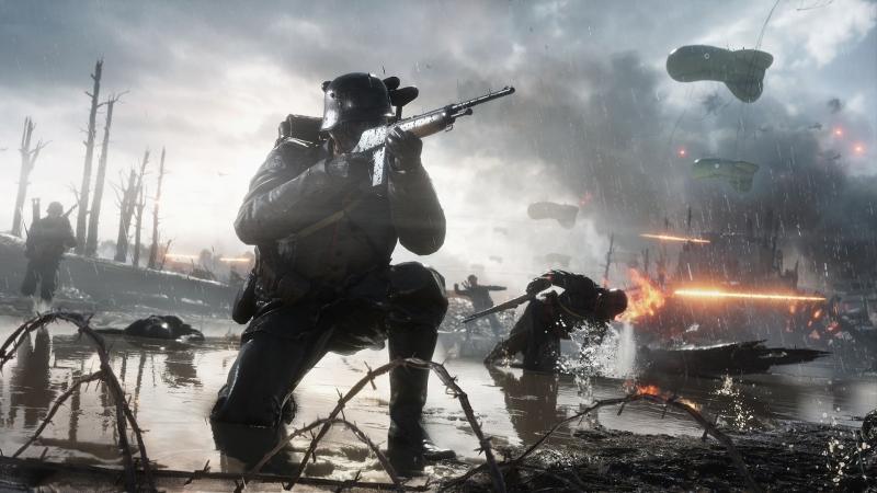 Battlefield 1. Ну просто грех не повоевать ;-)