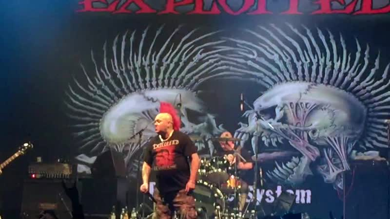 The Exploited, Moscow, 17.02.2017