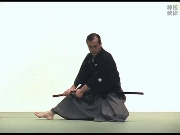 黒田鉄山 0.1秒の抜刀 神速の民弥流居合術 Kuroda Tetsuzan