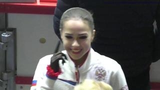 Alina Zagitova GP Helsinki 2018 FS FULL Practice
