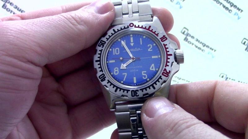 Часы Восток Амфибия 110648 - видео обзор от PresidentWatches.Ru
