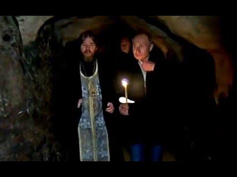 Путин тайно приехал в Псково-Печерский монастырь. Первые кадры!