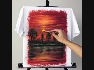 Картины на футболке