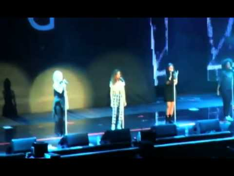 Little Mix perform at the Girlguiding Big Gig at Wembley Arena
