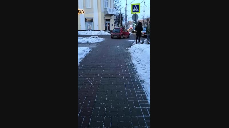 дубль 2 Авария на перекрекрестке Чижевского и Ленина