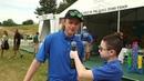 Dane DeHaan talks about Camp with camper Evan