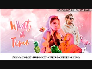 Julia Michaels - What A Time (Audio) ft. Niall Horan [RUS SUB]