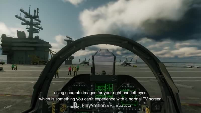 Ace Combat 7 - Skies Unknown – Behind the Scenes in VR - PS4, PS VR