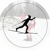 Логотип Лыжные гонки / Skiing