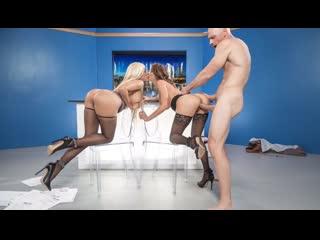 Alexis Fawx, Luna Star - News Ancwhores [Brazzers. HD1080, Big Tits, Stockings, porn 2019