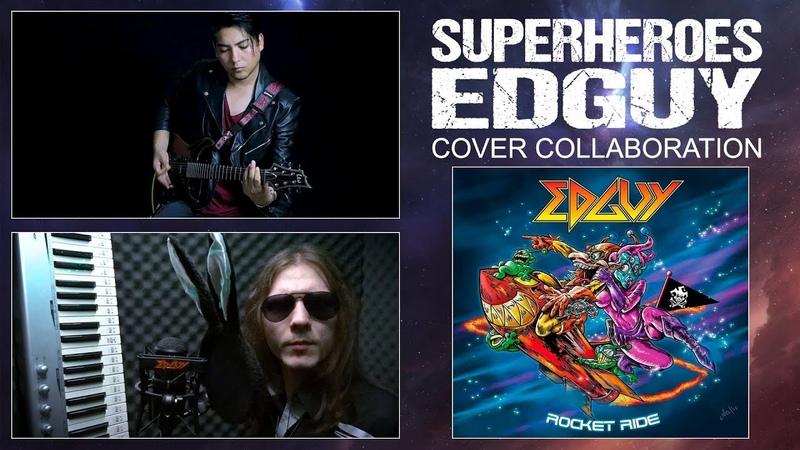 Superheroes (Edguy) - Cover by David Olivares ft Artemij Ryabovol