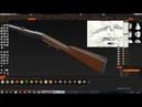 Карабин Галлагера. Моделирование в 3D Coat. ч2. Gallager carbine. 3D Coat modeling.