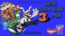 Super Mario Bros 3 Mix Secrets on 100% NES FC Longplay LIVE