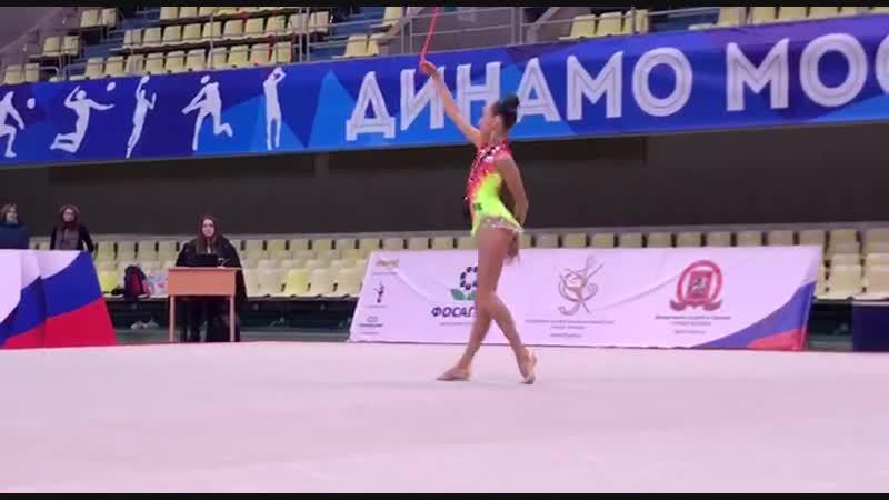 Александра Скубова - скакалка (финал многоборья) Первенство Москвы 2019