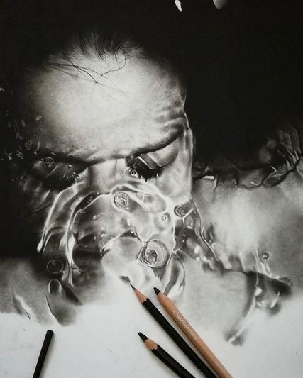 Невероятно талантливому итальянскому художнику Silvio Giannini (Сильвио Джаннини) всего 20 лет, а его имя уже известно на весь мир. Родился Сильвио в Риме в 1998 году. Его страсть к искусству