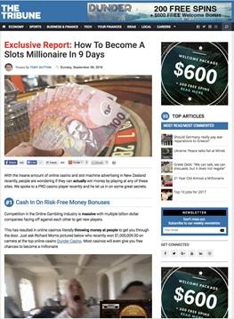 Как стать миллионером слотов за 9 дней