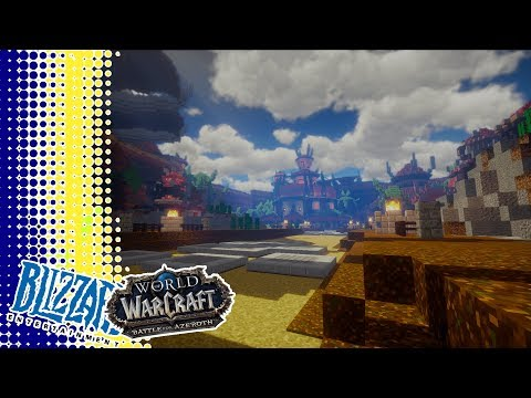 *Sponsored* World of Warcraft Meets Minecraft Building of Orgrimmar
