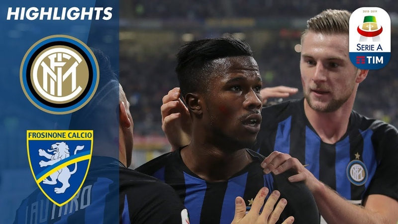 Inter 3-0 Frosinone | Inter Beat Frosinone Thanks To Keita Brace And A Goal By Lautaro | Serie A