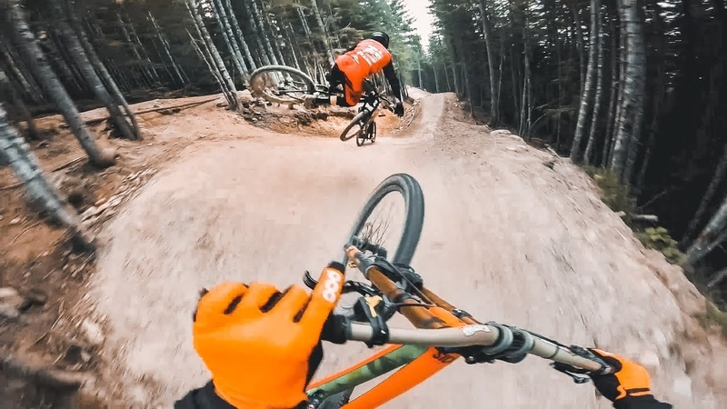 POV Run in Whistler with Remy Metailler Tomas Lemoine