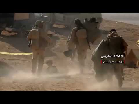 Heavy Clashes With ISIS During Combat In Abu Kamal