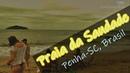 Praia da Saudade Penha Santa Catarina Brasil