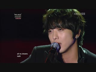 121102 Jung Yong Hwa Special Stage - Love Me Tender @ Music Bank Chile