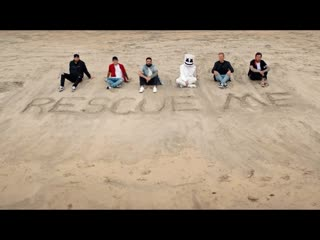 Marshmello - rescue me ft. a day to remember (official music video)