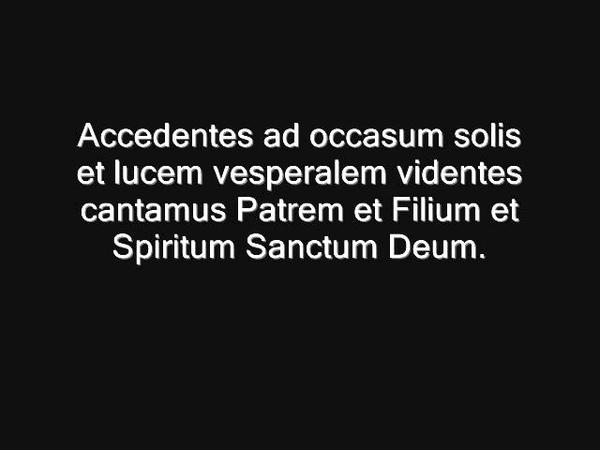 Lumen hilare Schola Cantorum Karolus Magnus Stan Hollaardt