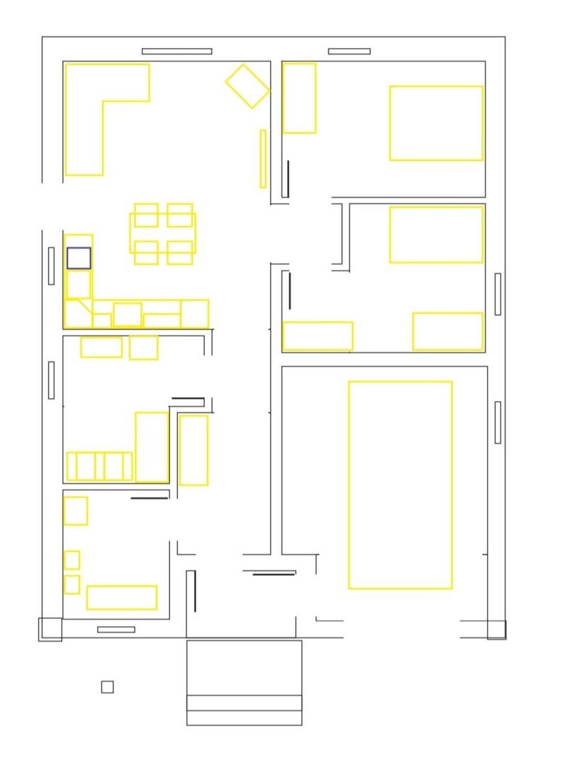 План одноэтажного дома с гаражём, Посёлок троицкая Слобода, Чайковский, 2018 год