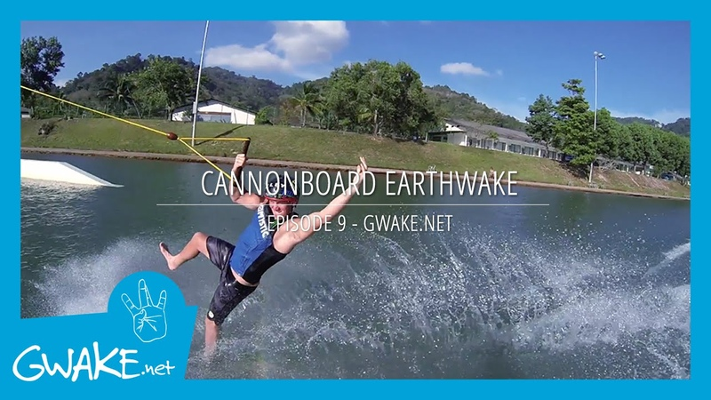 9 - Cannonboard Earthwake - Cable Wakeboarding Tricks
