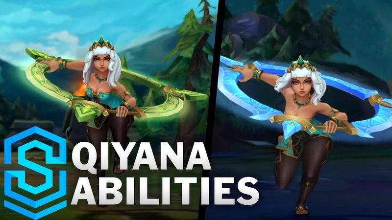 Qiyana Reveal The Empress of the Elements New Champion