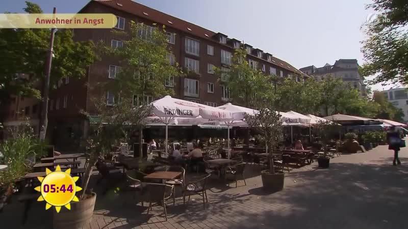 Hansaplatz in Hamburg: Anwohner leben in Angst   SAT.1 Frühstücksfernsehen   TV