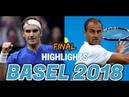 Roger Federer vs Marius Copil HIGHLIGHTS BASEL 2018 FINAL