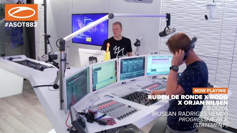 PROGRESSIVE PICK Ruben de Ronde X Rodg X Orjan Nilsen - Booya (Ruslan Radriges Remix) (Taken from TogetheRR Remixed) [Statement