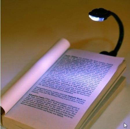 Миниатюрная лампа для чтения -