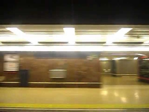 Metro de Madrid - Línea 6 (Anden 1) - Diego de León - Avenida de América