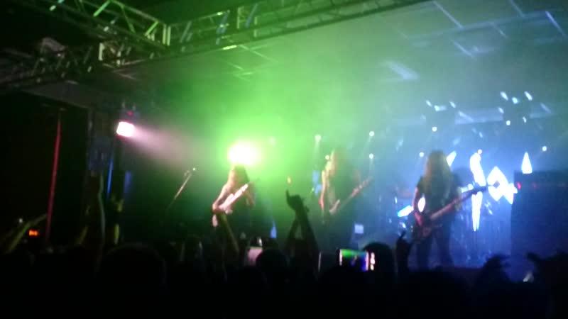 Sodom - Christ Passion (Live@Zal Ozhidanya, SPb) 12-10-18