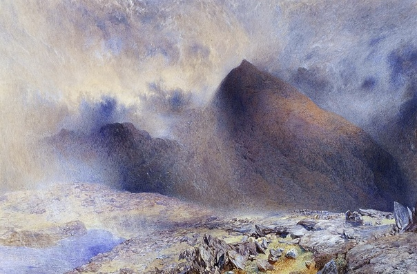 АЛЬФРЕД УИЛЬЯМ ХАНТ. Альфред Уильям Хант (англ. Alfred William Hunt; 15 ноября 1830, Ливерпуль 3 мая 1896, Лондон) английский художник-пейзажист и маринист.Родился в семье пейзажиста Эндрю